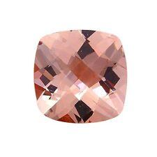 1.75ct 8mm Natural Cushion Cut Morganite Loose Gemstones