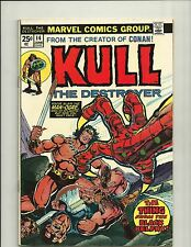KULL THE DESTROYER # 14 - 1974 - MIKE PLOOG ART - CONQUEROR - CONAN