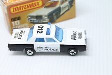 MATCHBOX SUPERFAST  * MERCURY METRO POLICE TRAFFIC CONTROL  * OVP * TOP