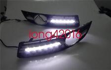 Exact Fit VW Passat B6 2006-2010 White LED DRL Daytime Running Lights Fog Lamp