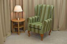 Wingback Fireside Chair  in Jura Sage Green Fabric - ******NEW*****