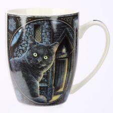 (Pair Of) Lisa Parker What Lies Within Cat  Bone China Mug.