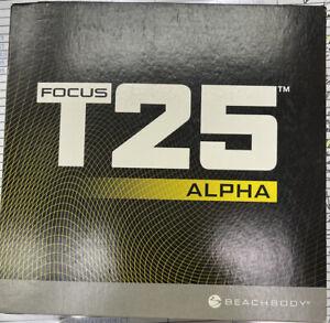 Beachnody Focus T25 Get It Done DVD Set Alpha + Beta Missing Ab Intervals