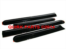 2005-2014 Nissan Frontier Crew Cab Right & Left Body Side Black Mouldings OE NEW