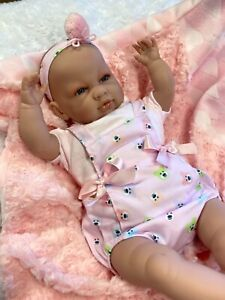 BEAUTIFUL CRYING  SPANISH DOLL REBORN ALTERNATIVE CAN  STUNNING OUTFIT