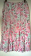 Unbranded Floral Polyester A-line Skirts for Women