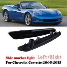 For Chevy Corvette C6 05-12 Pair Front Side Marker Light GM2550196 GM2551196