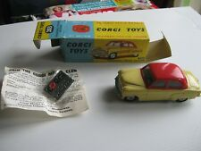 CORGI 203 VAUXHALL VELOX ORIGINAL EXCELLENT SALOON FROM 1959 IN ORIG GOOD BOX.