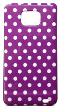 Cover Samsung Galaxy S2 Cover Moon White Background Purple Without Cover Plastic