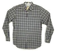 Banana Republic Mens Multicolor Plaid Long Sleeve Button Up Shirt Sz Medium NWT