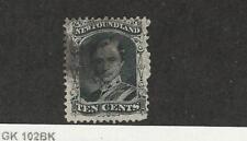 Newfoundland, Postage Stamp, #27 Used, 1865