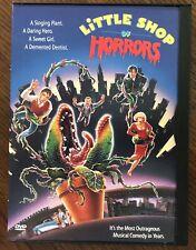 Little Shop of Horrors (DVD, 1998) Rare Snapcase Rick Moranis