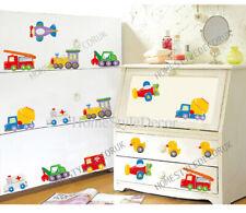 23pcs Toy Cars/Truck/Duck Transport Wall Sticker Decal Nursery Baby Kids Decor