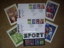 Sport Stamps 1980 Presentation Pack, Post Card Set & Two First Day Covers