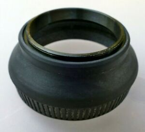 46mm Rubber Lens Hood Shade collapsible vintage