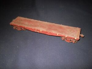Early O Scale Illinois Central 39' Flat Car