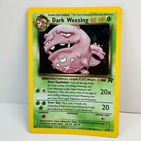 Pokemon Team Rocket DARK WEEZING 14/82 Holo Ultra Rare Card WOTC Excellent++