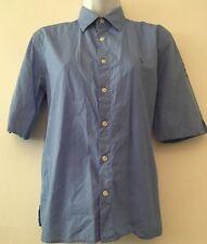 """Ralph Lauren Polo Golf Womens Shirt Blue Work QQ Link Com Embroidered 36"""" Chest"""
