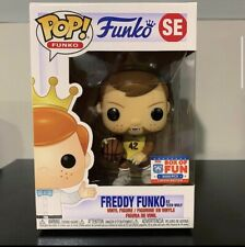 Funko 2021 Box Of Fun Freddy Funko As Teen Wolf Limited To 3000 Pieces