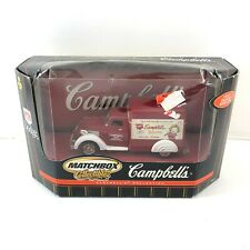 Campbell's Matchbox Collectible 1937 Dodge Airflow 92621 Die Cast Box Truck 2000