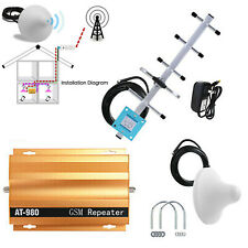 Cell Phone Signal Booster Repeater Amplifier Yagi Antenna Kit 2G GSM900MHz H8S0