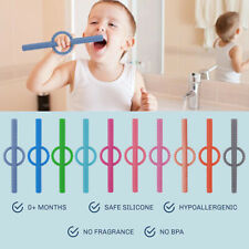 Baby Molar Rods Baby Molar Rings Children's Full Silicone Soothing Hollow S-_cd