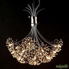 Modern Dandelion LED K9 Crystal Chandelier Pendant Lamp Ceiling Lighting Lights