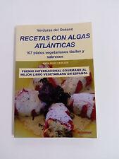 Livre RECETTES AVEC ALGUES ATLANTIQUE 107 plateaux végétarien facile