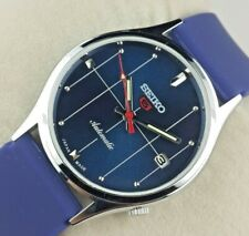 VINTAGE SEIKO 6309 MAJESTIC BLUE  MENS AUTOMATIC JAPAN WORKING WRIST WATCH MN.