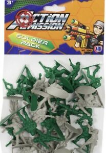 Action Mission Army Toy Model Soldiers Pack