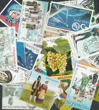 Moldova 10 different / random MNH stamps
