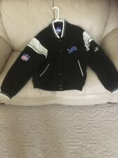 Reebok Detroit Lions Jacket Lg - Gift But Never Warn Other Than Trying It On