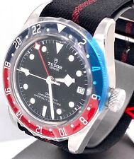 TUDOR Black Bay Pepsi GMT 41mm Watch Fabric Strap 79830RB -  Factory Warranty!