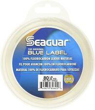 Seaguar Blue Label 100% Flourcarbon Leader Material - 25 Yards / 80Ibs