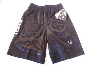 New And1 Mens Basketball Gym Workout Shorts Adjustable Waist S L 2XL 3XL Black