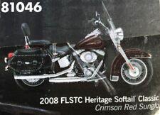 DIE CAST PROMOTIONS 1/12 2008 HARLEY DAVIDSON FLSTC HERITAGE SOFTAIL CLASSIC F/S