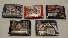 2011 2012 2013 2014 2015 Panini NFL Football Sticker Pack Lot of 50