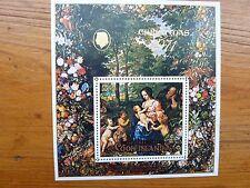966]  COOK ISLANDS STAMPS - MINI SHEET   - CHRISTMAS 1971 - 50c + 5c - MNH