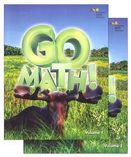 Grade 3 Go Math Student Edition Set 2015 2-Volumes 3rd