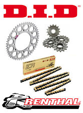 Renthal / DID Chain & Sprocket Kit to fit KTM 65 SX 2004-2008