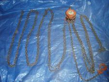 Hoist1 Tonwith A Very Long Chainusedlocal Pick Upatlanta Ga