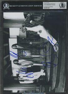 Corey Glover Will Calhoun Wimbish Reid Signed Photo AUTO Autograph BGS BAS #3