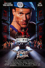 STREET FIGHTER (1994) ORIGINAL MINI 11 X 17 MOVIE POSTER  -  ROLLED