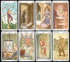 "Tarot of the 78 Doors 79 Cards Deck 6 Languages Pocket MINI 4.5x7.5cm 1.8х3"""