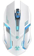 Wireless Gaming Mouse, VEGCOO C8 Silent Click Wireless Rechargeable Mouse wit...