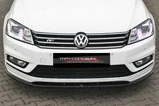 CUP Spoilerlippe für VW Passat B7 3C R-Line 10-14 Front Diffusor Schwert Ansatz