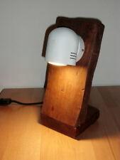 LAMPADA DA TAVOLO - ARTIGIANATO  LEGNO