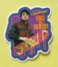 Back To The Future Marty McFly This Is Heavy Skateboard Laptop Decal Sticker