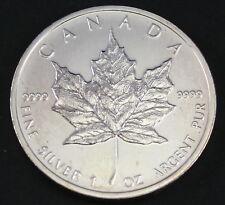 2011 1 oz Canadian Silver Maple Leaf Coin 9999 AG