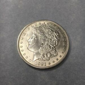 1 $ USA / Amerika Morgan-Dollar 1921 Silber